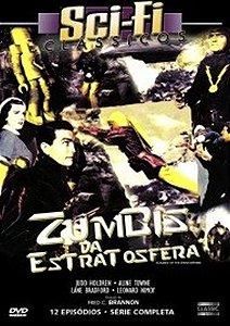 Dvd  Scifi Clássicos  Zumbis Da Estratosfera  12 Episódios  Fred C. Brannon