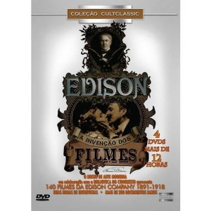 DVD BOX  Edison - A Invenção Dos Filmes ( 4 DISCOS )