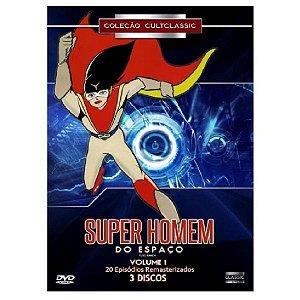 Dvd Box Super Homem Do Espaço - Vol. 1 (3 Discos )