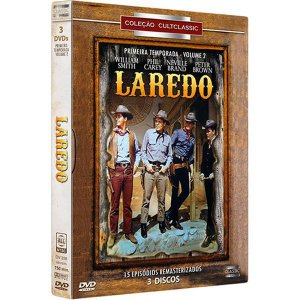 DVD BOX - Laredo: 1ª Temporada - Volume 2 (3 discos)