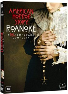 Dvd American Horror Story - Roanoke - 6ª Temp - 3 Discos