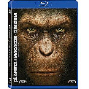Blu-Ray Planeta Dos Macacos - A Origem