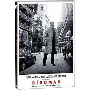 DVD - Birdman ou A Inesperada Virtude da Ignorância
