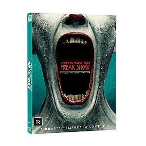 Dvd American Horror Story - Freakshow - 4ª Temp - 4 Discos