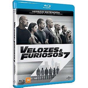 Blu-ray - Velozes e Furiosos 7