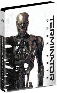 STEELBOOK BLU-RAY - O EXTERMINADOR DO FUTURO DESTINO SOMBRIO