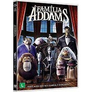 DVD - A FAMILIA ADDAMS (2019)