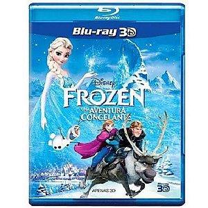 Blu-Ray 3D - Frozen - Uma Aventura Congelante