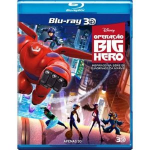 BLU RAY 3D OPERAÇÃO BIG HERO