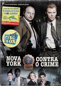 Dvd Nova York Contra O Crime - 1ª Temporada Completa