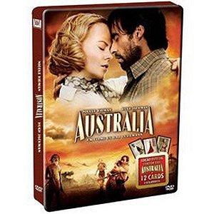 Dvd Australia Edição Lata