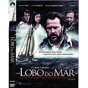 DVD LOBO DO MAR - JACK LONDON