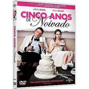 DVD CINCO ANOS DE NOIVADO - JASON SEGEL - EMULY BLUNT