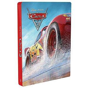 Steelbook - Blu-Ray + Blu-Ray 3D - Carros 3