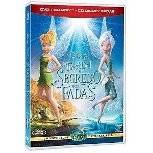 Blu-Ray+Dvd+Cd - Tinker Bell - Segredo Das Fadas