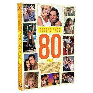 DVD Sessão Anos 80 - VOLUME 2 - Digipak ( 2 DISCOS )