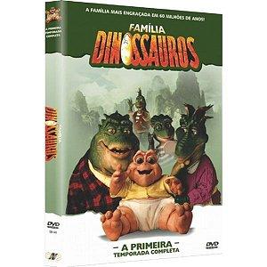 DVD A Família Dinossauros - A Primeira Temporada Completa