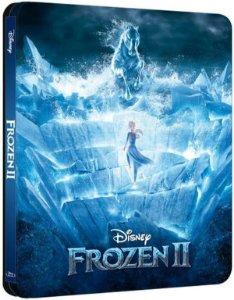 STEELBOOK BLU RAY FROZEN 2
