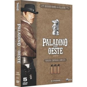 DVD BOX Paladino Do Oeste - 3ª Temporada Completa