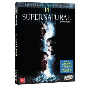Dvd Box - Supernatural 14ª Temporada