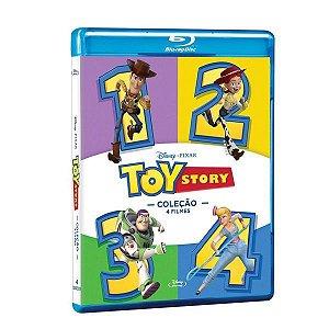 Pack Blu-Ray Toy Story - Coleção 4 Filmes (4 Bds)