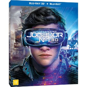 Blu Ray 3d + 2d Jogador Nº 1 - Steven Spielberg