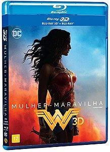 Mulher Maravilha - Blu-Ray 3D/2D + Blu-Ray