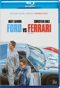 BLU-RAY - FORD VS FERRARI - MATT DAMON