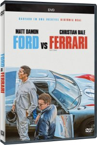 DVD - FORD VS FERRARI - MATT DAMON