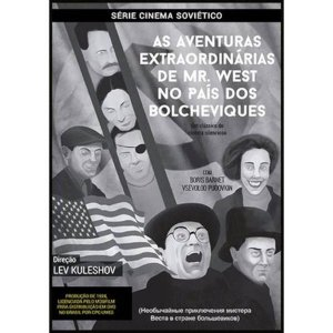 DVD As Aventuras Extraordinárias de Mr. West no País dos Bolcheviques