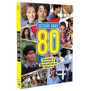 DVD Sessão Anos 80 - Vol. 6 ( 2 DISCOS )