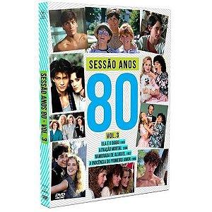 Dvd Sessão Anos 80 - Vol. 3 (2 DISCOS)
