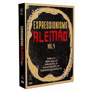 Dvd - Box Expressionismo Alemão Vol.4 (3 DISCOS)