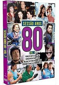 DVD - SESSÃO ANOS 80 VOL. 7 (2 DISCOS)