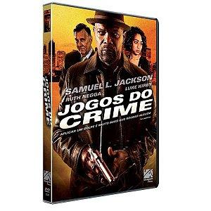 DVD - Jogos do Crime - Samuel L. Jackson