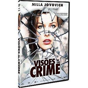 DVD - VISÕES DE UM CRIME - MILLA JOVOVICH
