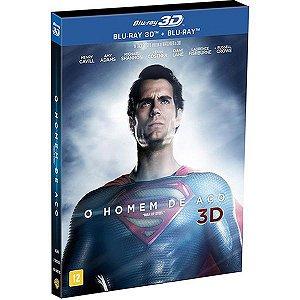 Blu-ray 3D + 2D - O  HOMEM DE ACO
