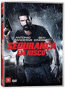 DVD SEGURANÇA EM RISCO - ANTONIO BANDERAS