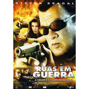 DVD - RUAS EM GUERRA - STEVEN SEAGAL