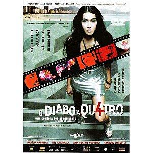 DVD O DIABO A QUATRO - MARCELO FARIA