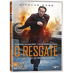 DVD O RESGATE - NICOLAS CAGE