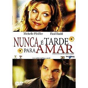 DVD - NUNCA É TARDE PARA AMAR - MICHELLE PFEIFFER