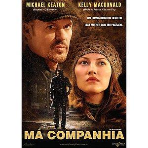 DVD MÁ COMPANHIA - MICHAEL KEATON