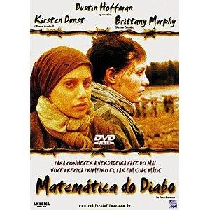 DVD MATEMÁTICA DO DIABO - KIRTEN DUNST