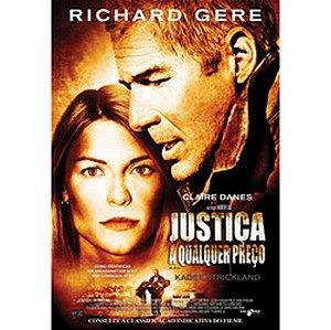 DVD JUSTIÇA A QUALQUER PREÇO - RICHARD GERE