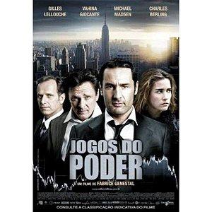 DVD JOGOS DO PODER - FABRICE GENESTAL