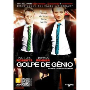 DVD GOLPE DE GÊNIO - JEREMY RENNER