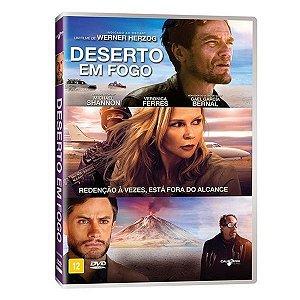 DVD DESERTO EM FOGO - MICHAEL SHANNON