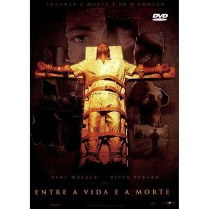 DVD ENTRE A VIDA E A MORTE - PAUL WALKER