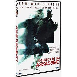 DVD EM BUSCA DO ASSASSINO - SAM WORTHINGTON